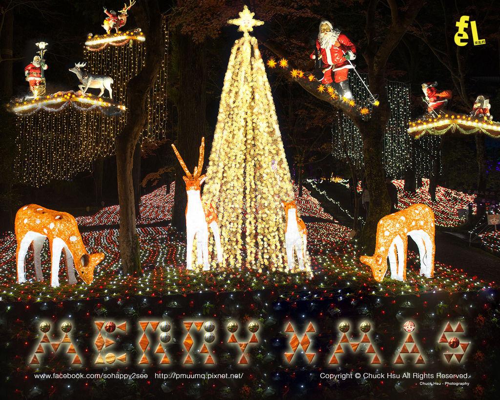2014聖誕卡小1280X1024