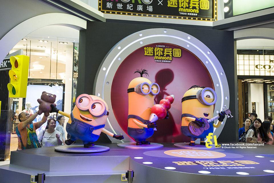 『逛展覽』MINIONS 小小兵特展 @香港