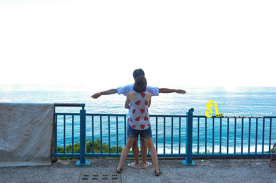『花東慢遊』多良車站。神隱在太平洋上的月台