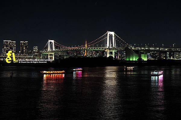 有鋼彈也有自由女神的東京台場
