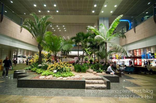 上一次來新加坡朋友帶我在外面參觀過這裡 感覺就像是個花園機場 樟宜應該是個時下流行的綠建築吧.jpg