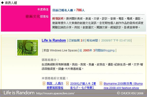 來去報名【2008第四屆全球華文部落格大獎】吧~.jpg