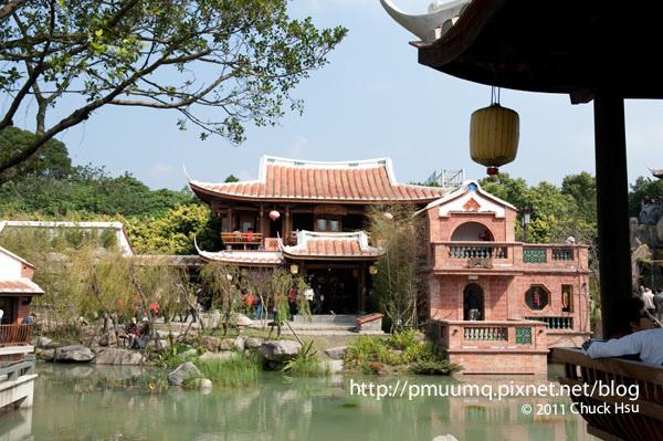 花茶殿裡閩南式建築和庭園造景(2010台北花博 Taipei Expo).jpg