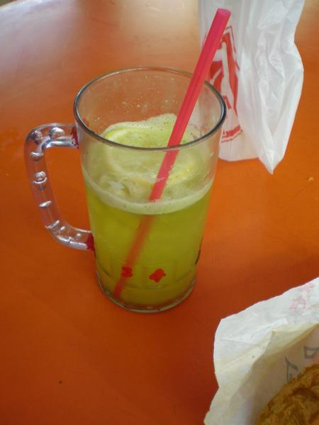 朝思暮想的甘蔗+檸檬汁@Maxwell, SIN