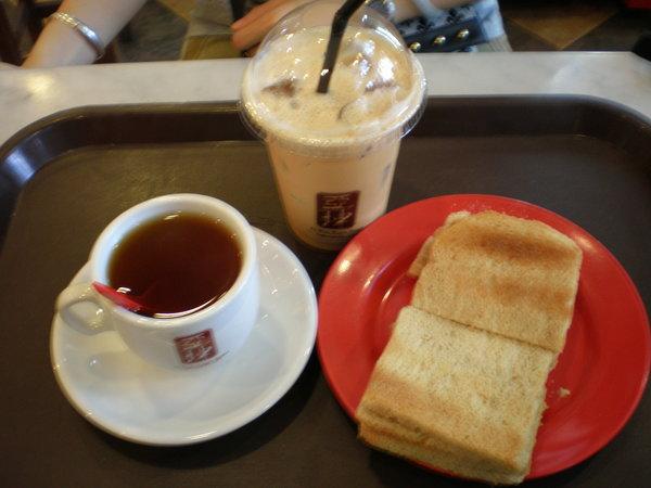 亞坤咖椰土司套餐@Bugis Station, SIN