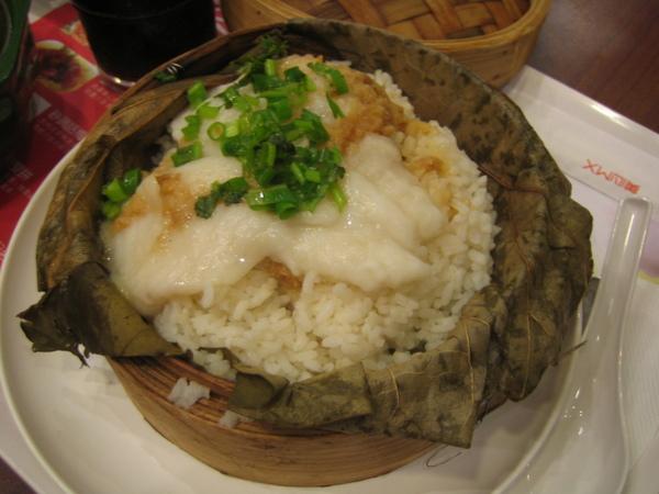蒜香魚蒸飯@信德中心美心餐廳
