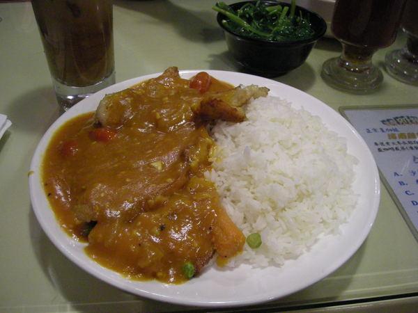 意式豬扒飯@廣東道表哥茶餐廳