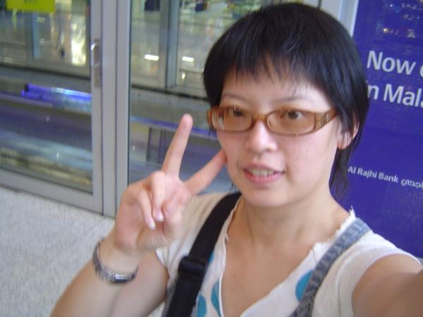 我到吉隆坡機場了唷