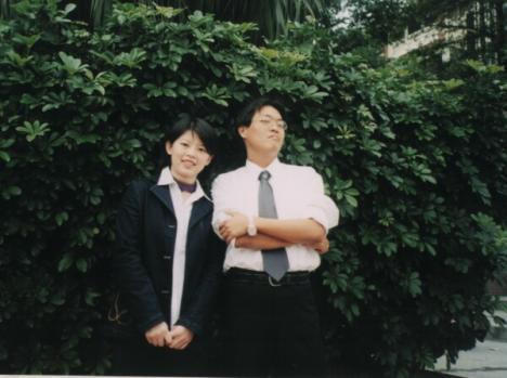 02年拍畢業照with騎士大人