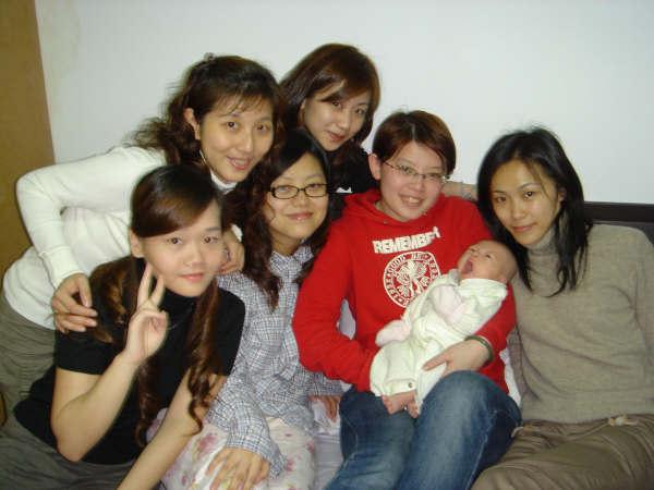 06年楊小彬滿月