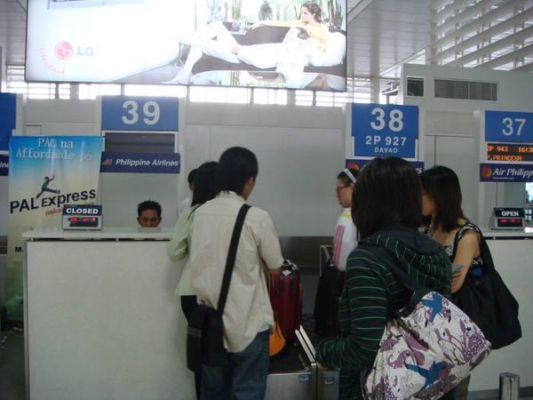 掛國內班機的行李要飛去長灘島隔壁嚕
