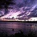 01南灣海面上的晚霞