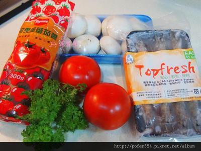 鮮蝦蘑菇1