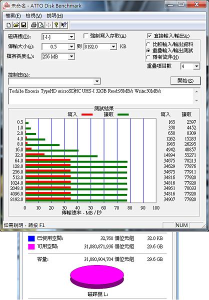 Toshiba Exceria TypeHD microSDHC UHS-I 32GB