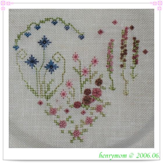 Mon Petit Jardin -- detail of roses