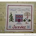 La petite maison de campagne -- Janvier
