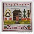 La petite maison de campagne -- Novembre