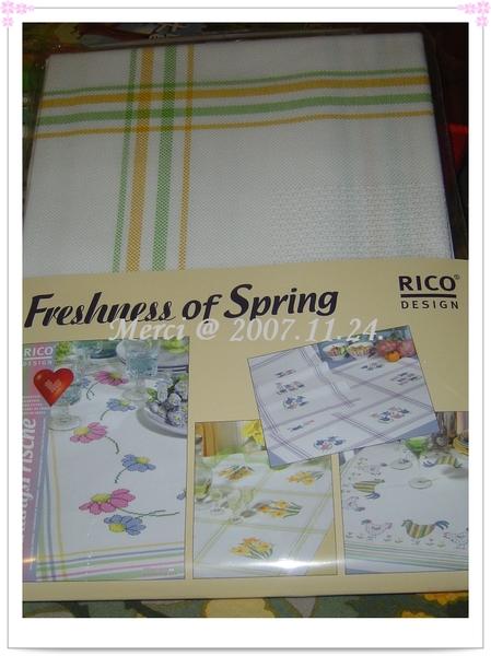 Rico桌巾義賣