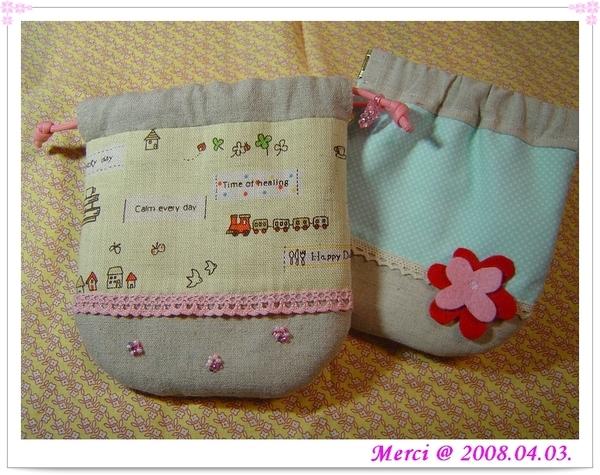 束口袋(手縫)&口金包(機縫)