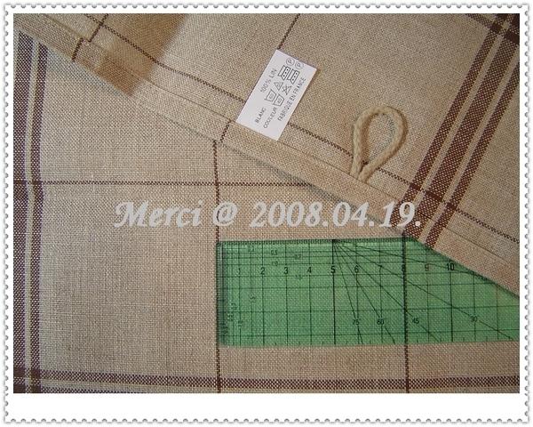 亞麻餐巾繡布detail