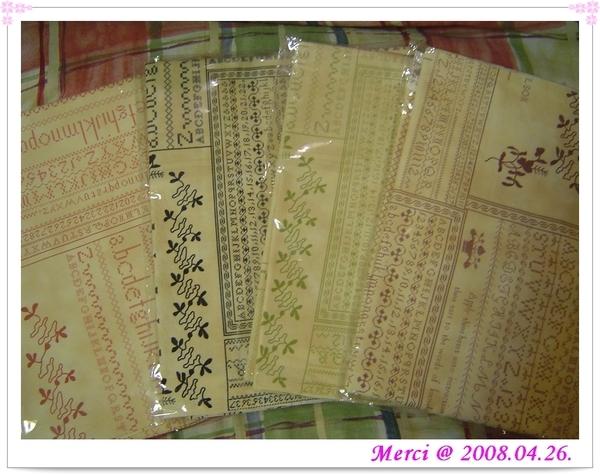 2008喜佳國際拼布展戰利品