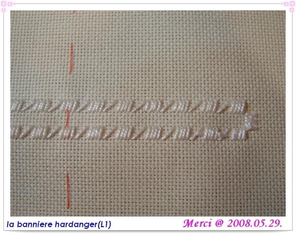 la bannière hardanger -- Lecon 1