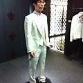 白色燕尾服