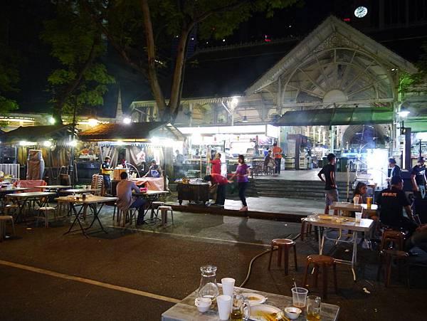老包剎(Lau Pa Sat)的路邊攤