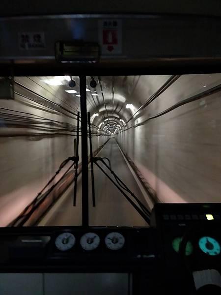 立山隧道無軌電車,準備從室堂前往大觀峰