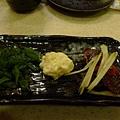 海帶芽, 鱈魚卵, 河豚皮