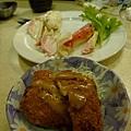 清蒸雪場蟹腳&特製海鮮可樂餅