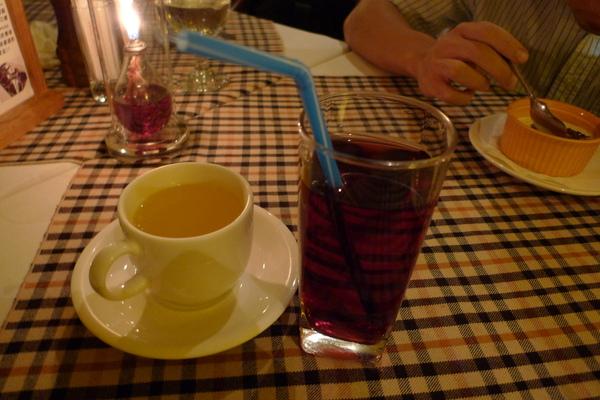 香柚茶&葡萄汁