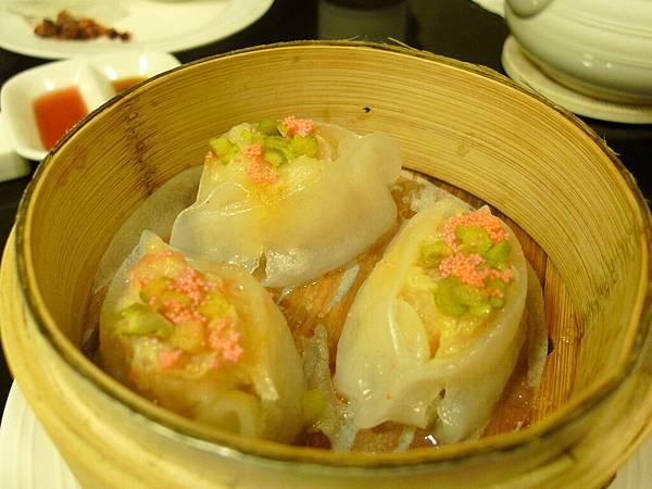 蘆筍鱈魚餃