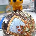 奈良的小鹿和幾米的拼圖球