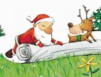 Santa & Friend