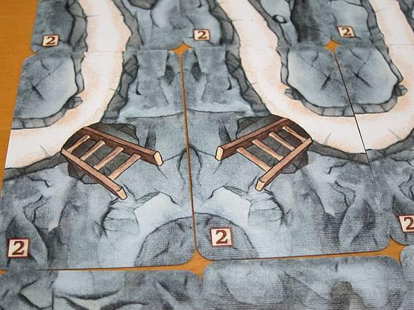 矮礦2道路卡-梯子