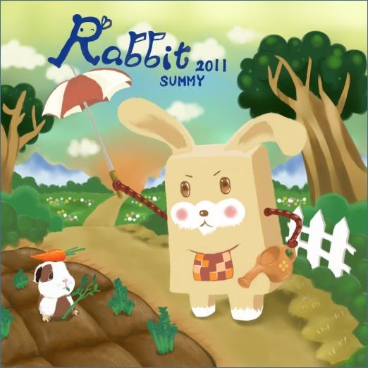 1.DODO方塊 - Rabbit澆花兔.jpg