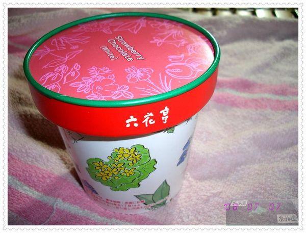 六花亭白巧克力草莓