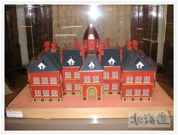 舊道廳模型