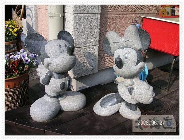 石雕米老鼠