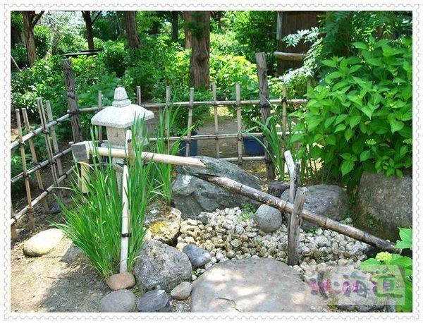 花園裡的造景