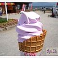 薰衣草冰淇淋