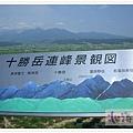十勝岳連峰景觀圖