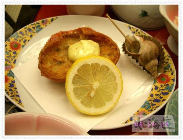 炸蟹斗和海螺
