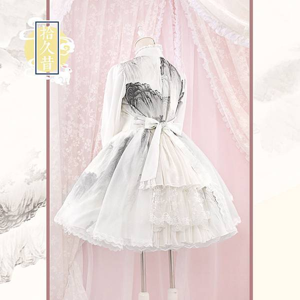 独家山水印花中华风交领Lolita连衣裙—寒江雪【展示】1.jpg