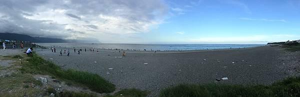 寧靜七星潭的海