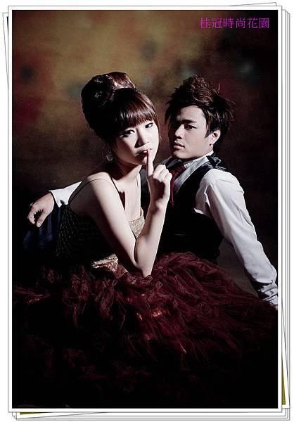 台中新秘,新娘秘書,Polly老師,馬甲晚禮服,可愛丸子造型, (2)