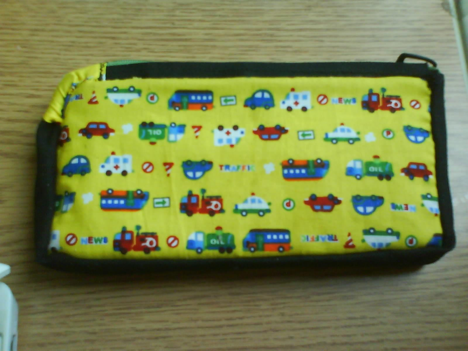 小汽車PSP收納包1