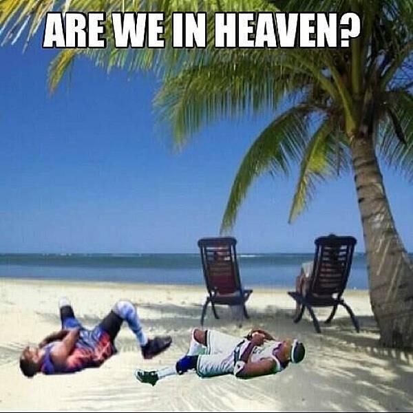 我在天堂嗎