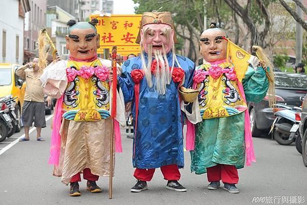 保安宮保生文化祭放火獅11